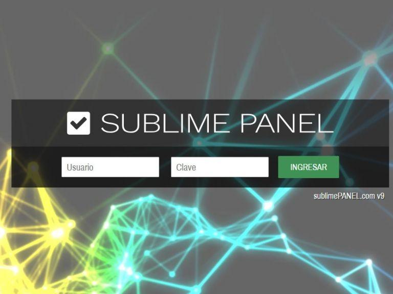 PLATAFORMA, SUBLIMEPANEL PANEL v10, el software de gestión de contenidos inteligente